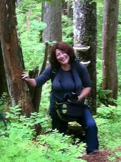 On the San Juan Ridge, Vancouver Island, BC