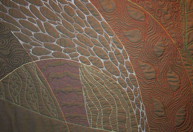 Stitching Detail - Tunicates 1