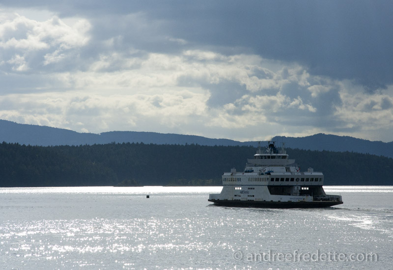 May Commute, in the Gulf Islands. The Cumberland Queen, BC Ferries