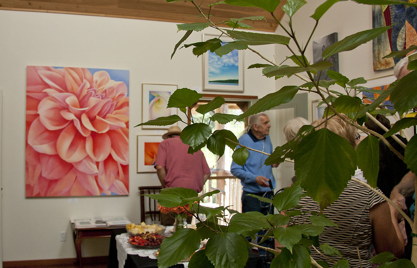 Saturna Art exhibition, Insight Gallery, Galiano, BC August - September 2013
