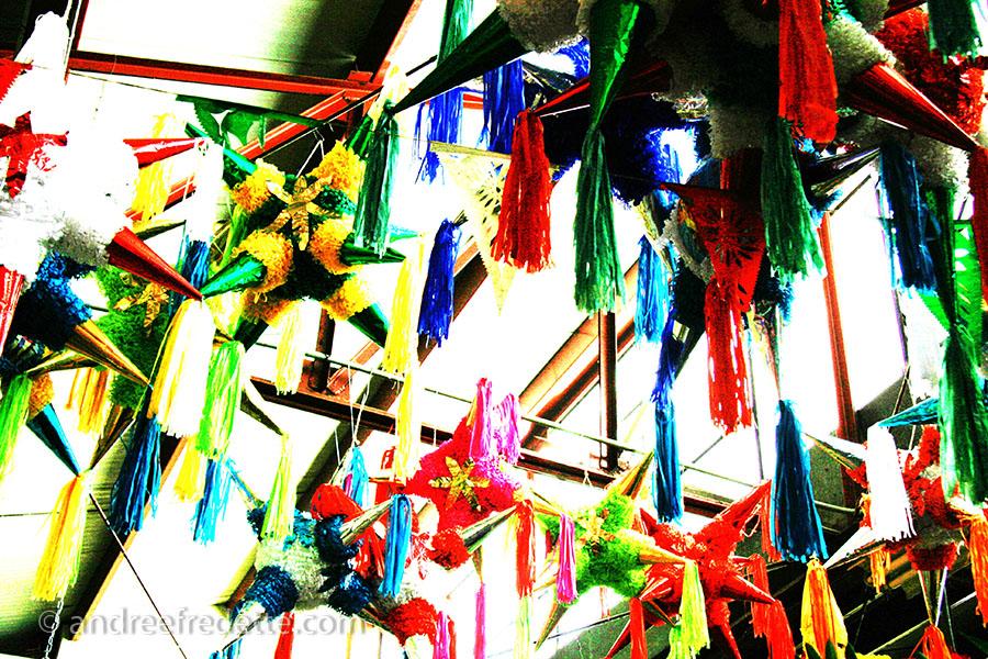 Pinatas, Juan de Galvez Market, Merida, Mexico. Photo © Andrée Fredette