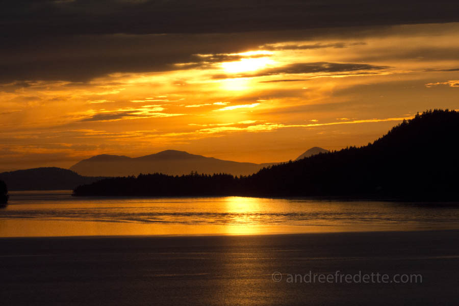 Soulful Sunset. Photo © ¸Andrée Fredette