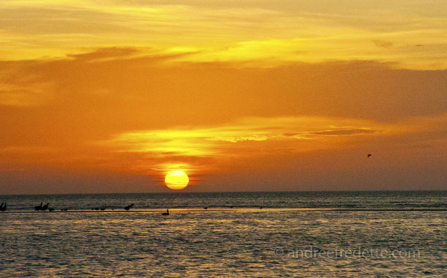 Holbox sunset. Photo by Andrée Fredette