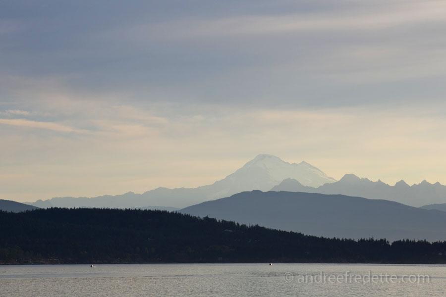 Mount Baker, WA. Morning mood. Photo by Andrée Fredette