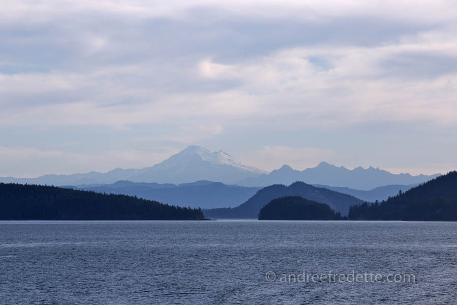 Mount Baker, from the Anacortes Ferry. Photo by Andrée Fredette