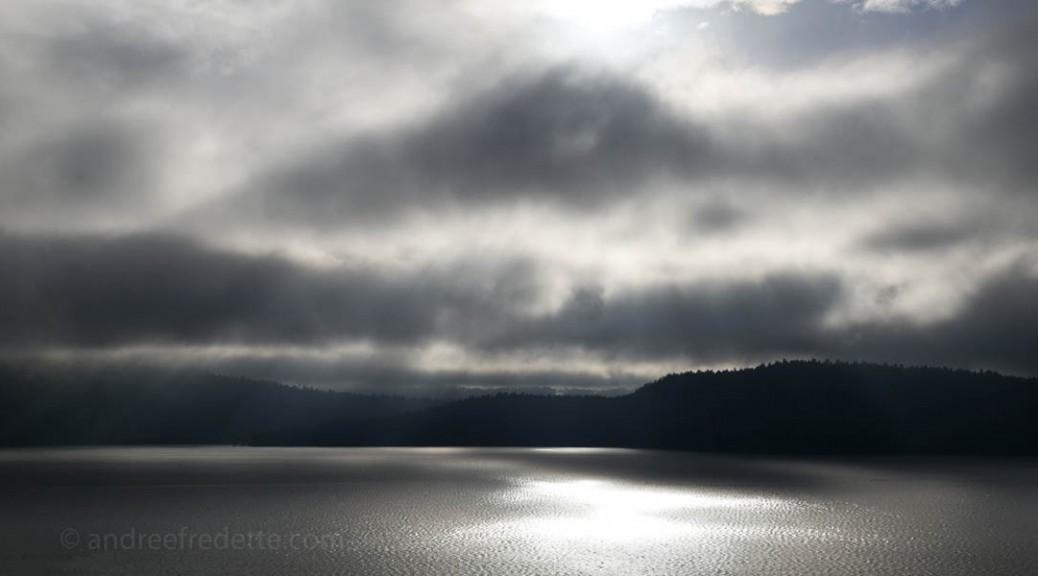 Stormy Sky, Saturna Island. Photo by Andrée Fredette