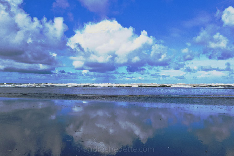 Big Sky at the Beach. Photo © Andrée Fredette