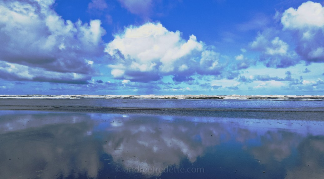 Clouds Reflected. Photo © Andrée Fredette