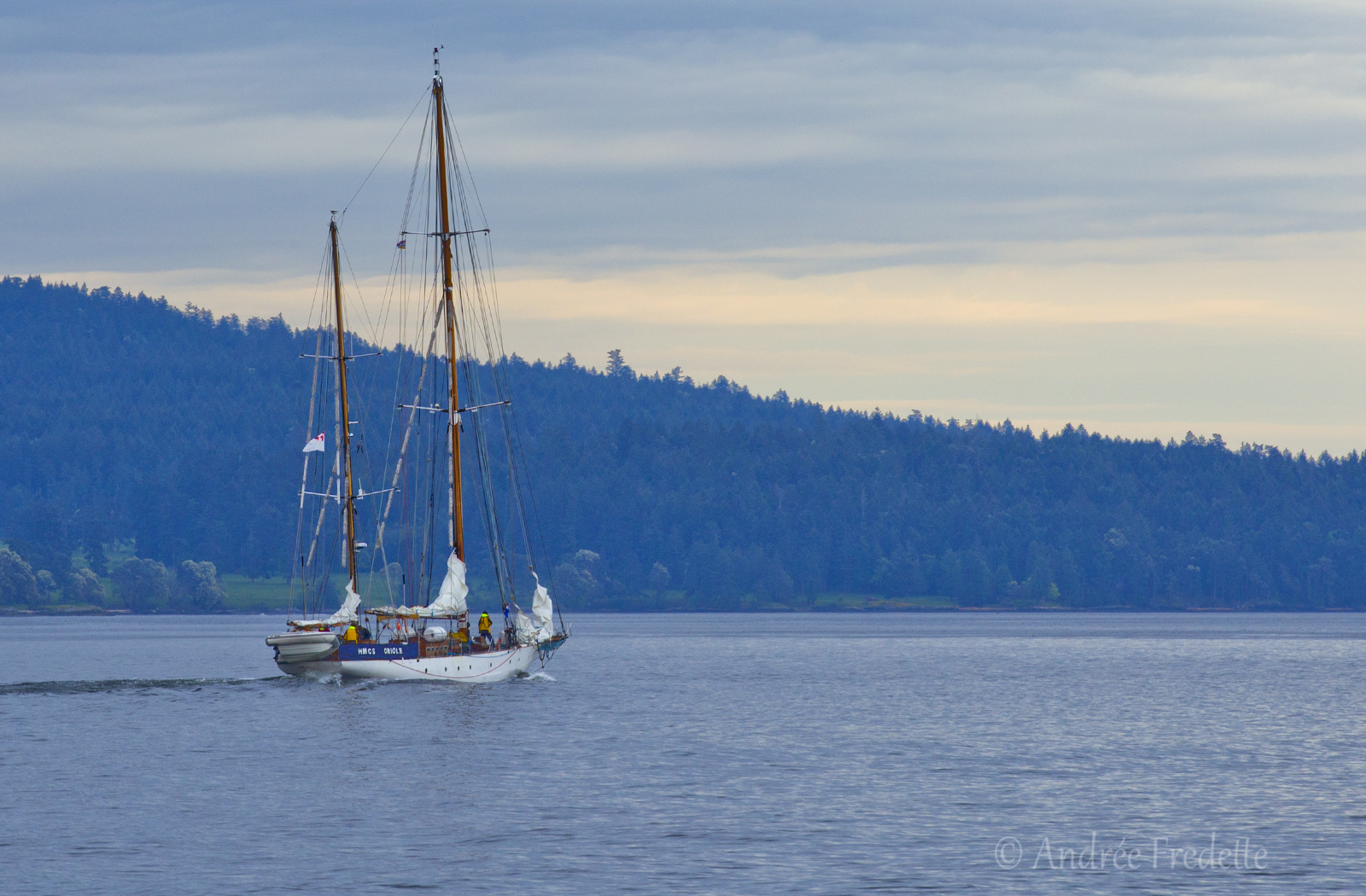 HMCS Oriole, oldest commissioned vessel in the Royal Canadian Navy. Photo by Andrée Fredette